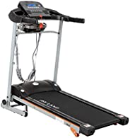 Skyland Unisex Adult Motorized Treadmill With Massager -EM-1267m- Grey/Black, L=138X W=72 X H=121 cm.