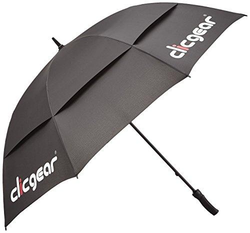 Clicgear TRCCUMWPBK Parapluie de Golf-Noir