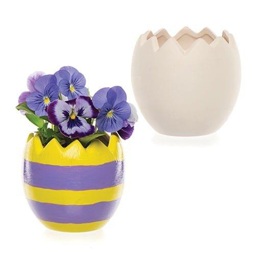 Baker Ross AR148 Huevo Pascua cerámica macetas Caja