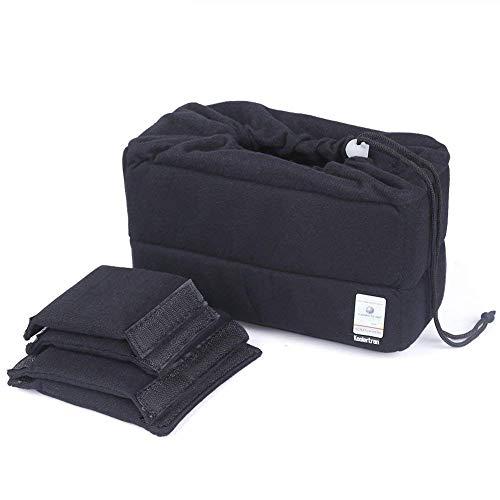 Kamera Schutztasche Wasserdichte Shockproof Gepolsterte Phototaschen Kamerataschen mit Gepolsterter Einsatz für Sony Canon Nikon DSLR Erschossen oder Flash Light