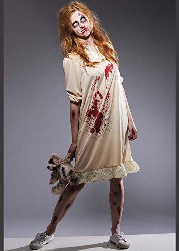 Style Nachtkleid Zombie Kostüm Small (UK 8-10) (Walking Dead Woman Kostüm)