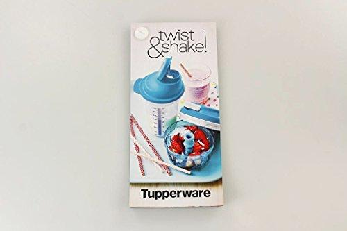 Tupperware Receta Tarjetas Turbo de chef Mix de cocinar Fix Coctelera con recetas Ideas P 20837