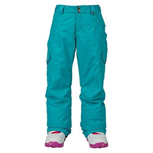 Burton Mädchen Elite Cargo Pants Snowboardhose, Everglade, L (Ski Cargo Pants)