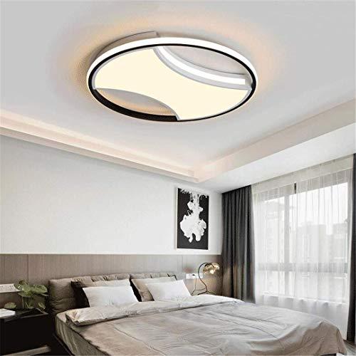 e Weiß Einfache Deckenleuchte Kreative Schlafzimmer Lampe Moderne Haushalt Persönlichkeit Runde Zimmer Licht Warm Schlafzimmer Lampe ()