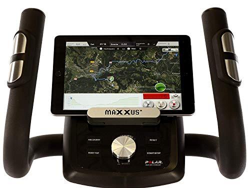 MAXXUS® CROSSTRAINER CX 6.1 – Ellipsentrainer, kostenlosem Versand. flacher, elliptischer Bewegungsablauf mit großer Schrittlänge für einen gesunden Lauf. Trainingsprogramme, HRC-Programme, Smartphone-Tablet-Halterung, elektr. gesteuerte Magnetbremse, robuste Konstruktion - 5