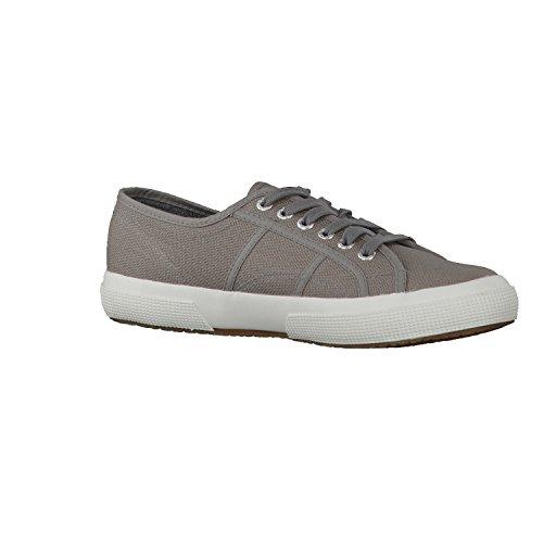 Superga 2750 Linu, Damen Schnürsneaker Grau (Grey Sage M38)