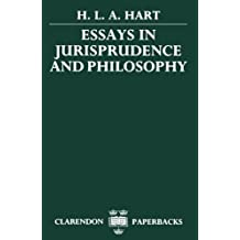 Essays in Jurisprudence and Philosophy: Written by H. L. A. Hart, 1984 Edition, Publisher: OUP Oxford [Paperback]