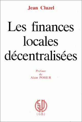 Les finances locales décentralisées