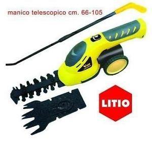 Vigor VTL-36 Tagliabordi/Tagliasiepi, Kit Litio, 3.6 V