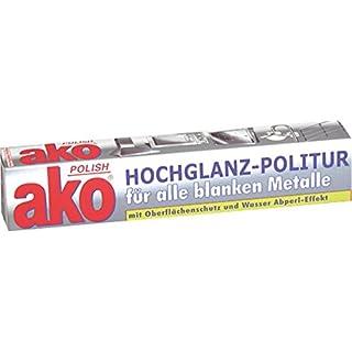 Metallpflegepaste ''ako Polish'', TUBE 100 ml