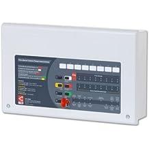 TC443–c-tec CFP708–2allarme 8zone 2filo convenzionale allarme incendio pannello di controllo