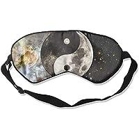 Yin Yang Moons Outer Space Sleep Eyes Masks - Comfortable Sleeping Mask Eye Cover For Travelling Night Noon Nap... preisvergleich bei billige-tabletten.eu