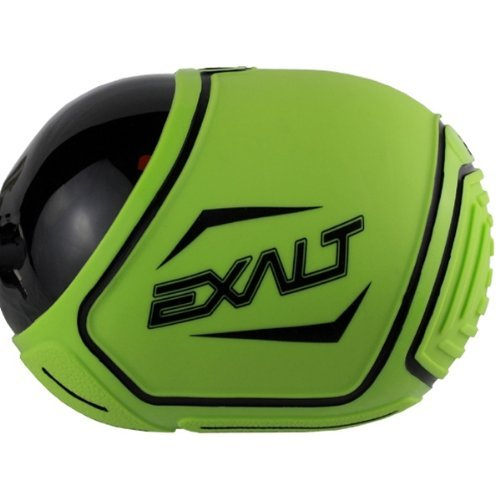 Exalt Paintball 45/50ci Carbon TANK COVER - Lime/Schwarz