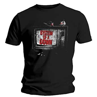 System Of A Down TV T-Shirt black M