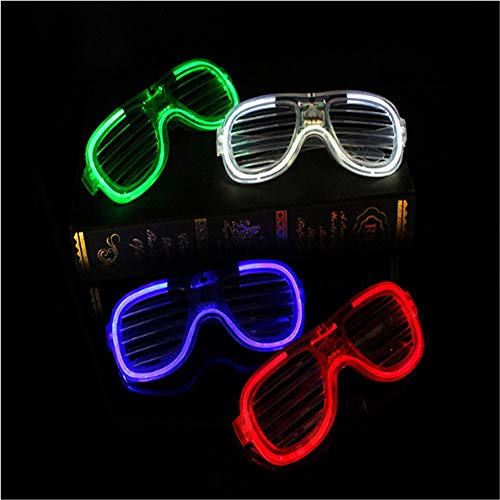 Lfives-hm Leuchtstab Led Licht Gläser für Flash Party Halloween Weihnachten leuchtende Dekor für Glow Party Supplies