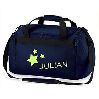 Kindersporttasche-Junge-Mdchen-Motiv-Sterne-Namen-sdruck-personalisiert-Bedruckt-Reisetasche-Sporttasche-mit-Namen-Kindertasche-Tragetasche-zum-Umhngen-fr-Kinder