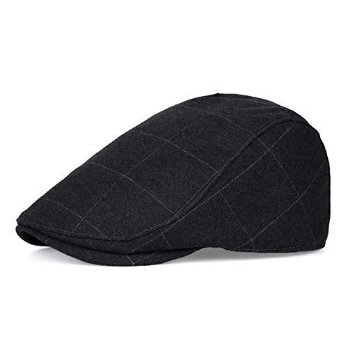 Preisvergleich Produktbild shunlidas Hüte Dekorationen Hut Karierte Männer Und Frauen Britische Vintage Baskenmütze