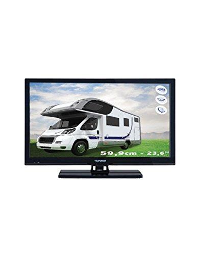 Television Tele 24   LED Full HD Caravan And Motorhome DECODEUR Satellite Fransat