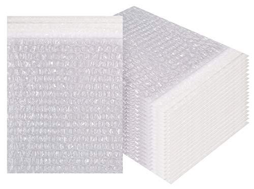 Amiff Luftpolsterbeutel, 4 x 5,5 cm, transparent, gepolstert, 4 Stück 20 Stück Luftpolsterbeutel. Selbstdichtend. Versand Versand Verpackung Verpackung Lagerung und Umzug