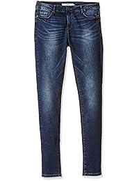 Vero Moda Vmseven Nw S. S Eye Vi Jeans Gu965 Noos - Skinny - Femme