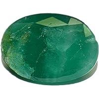 Esmeralda de Pakistán piedra preciosa natural & facettiert 4.57quilates