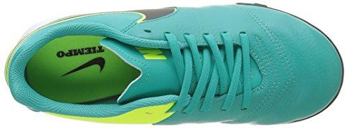 Nike Jr Tiempox Legend Vi Tf, Chaussures de Foot Mixte Bébé, Blanc, 36 EU Noir (Clear Jade/Black/Vert Volt)