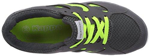 Kappa FOX unisex Unisex-Erwachsene Sneakers Grau (1633 grey/lime)
