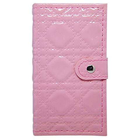 Portefeuille portatif 48 couleurs Ensemble de contour palette matricielle avec combinaison de lèvres brillantes, poudre sourcils, blush, poudre pour le visage et miroir parfait pour un usage quotidien , light pink