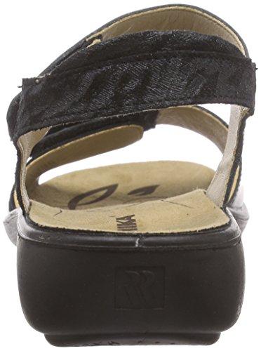 Romika - Ibiza 67, Scarpe col tacco con cinturino a T Donna Nero (Nero (Nero 100))