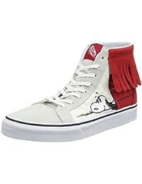Vans Unisex SK8-Hi Moc Leather Sneakers