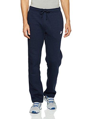Nike 804395, Pantaloni Uomo Blu Ossidiana/Bianco