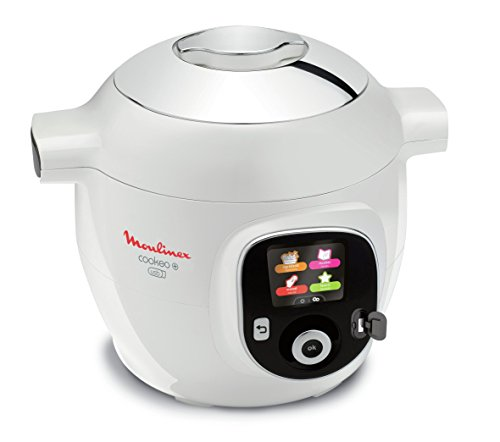 Moulinex Multicuiseur Intelligent Cookeo + USB 150 Recettes 6L Finition Chromé YY2943FB