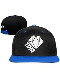 Novelcustom Jagermeister Logo Adjustable Flat Baseball Cap/Hat for Unisex
