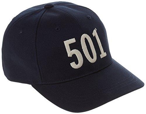 Levis Footwear and Accessories Herren Baseball Cap 501, Blau (Navy Blue), One Size (Herste Preisvergleich