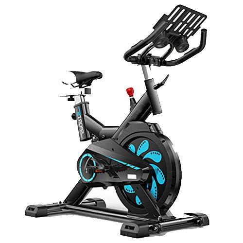 MIAO Sehr leises Indoor Cycling, Fitness Bike und AB Trainer, Sportausrüstung, Idealer Cardio Trainer,Black-OneSize (Fitness Bike Indoor)