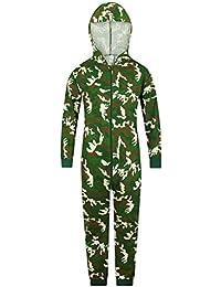 The PyjamaFactory - Mono de algodón con capucha para niños y niñas