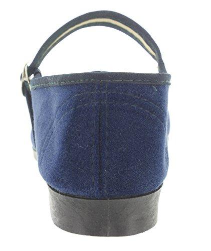 MIK Funshopping, Scarpe con fibbia donna Blu (blu)