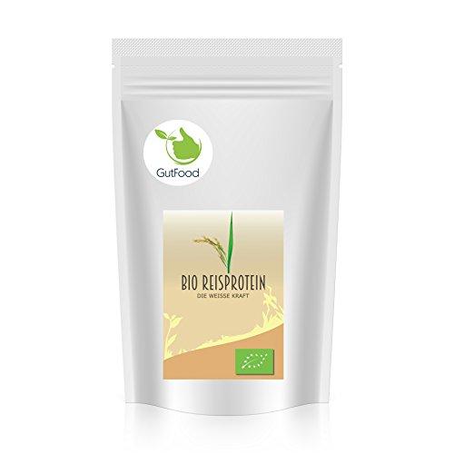 Goldener Zweig - Bio Reisprotein Pulver - 1kg - veganes Pflanzenprotein - gut für Low Carb, Atkins, Paleo, und Keto Ernährung