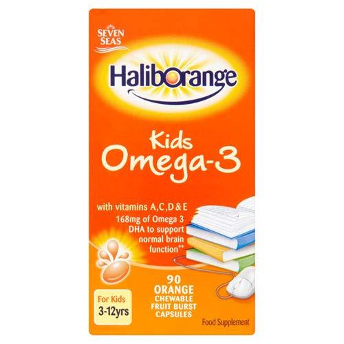 Haliborange | Omega 3 Chewy Orange Capsules | 2 x 90s (DE) -