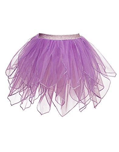 53violett Fairy Tutu Kostüm ()