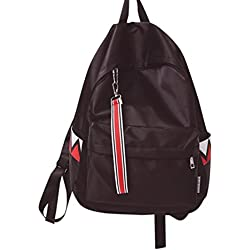 mochilas escolares juveniles impermeable Sannysis bolsos mujer mochila pequeñas casual viaje mochilas mujer pequeñas baratas Satchels Bolsas de hombro (Negro)