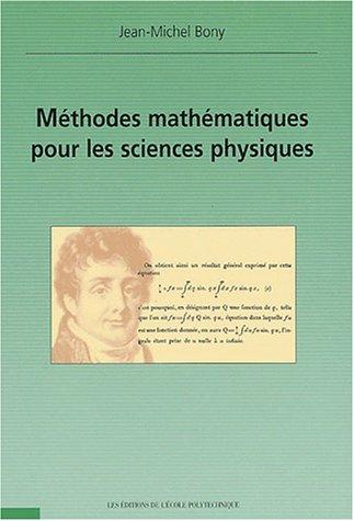 Méthodes mathématiques pour les sciences physiques
