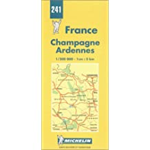 Carte routière : Champagne - Ardennes, N° 241