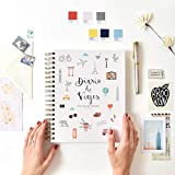 Cuaderno de viaje | Diario de Viaje | Para todas tus aventuras | Planea tus viajes y recuérdalos para siempre. Diario de viajes | By Tapooki.