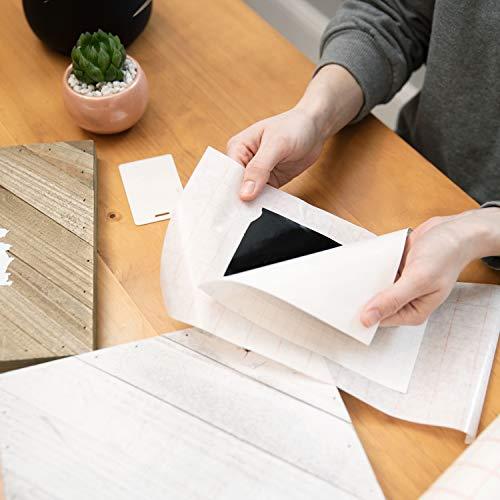 TRANSFER PAPIER mit Gitterraster – 30.5 cm x 2.4 m Rolle – Perfekt für Vinyl Klebefolien von CRICUT, CAMEO u.a. – Perfekt für Wände, Schilder, Aufkleber, Fenster und glatte Oberflächen - 6