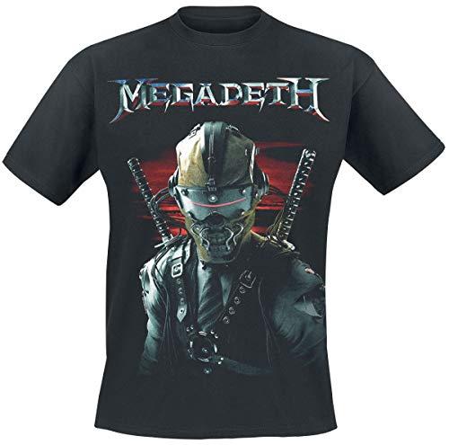 Megadeth Samurau Sunset Camiseta Negro S