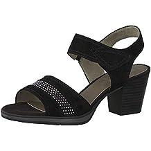 new arrival df65a a845e Suchergebnis auf Amazon.de für: jana sandalette schwarz schwarz