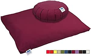 CalmingBreath Set tappeto zabuton e cuscino zafu da meditazione – Adatto a tutti