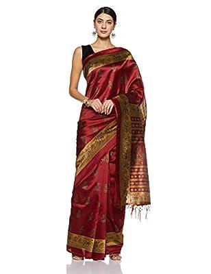 Art Decor Sarees Silk Saree with Blouse Piece
