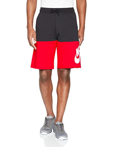 Nike - 910053 - Short pour Homme M Nero/Rosso/Bianco